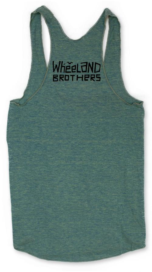 Muchos Mahalos tank shirt Wheeland Brothers