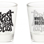 Toast to the Coast Shot Glass