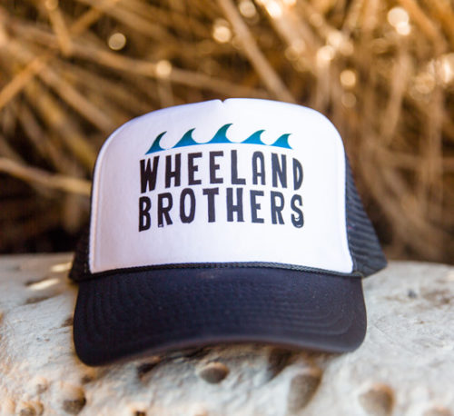 Bamboo beach hat trucker wheeland brothers wave