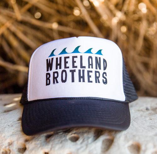 Bamboo beach hat trucker wheeland brothers wave