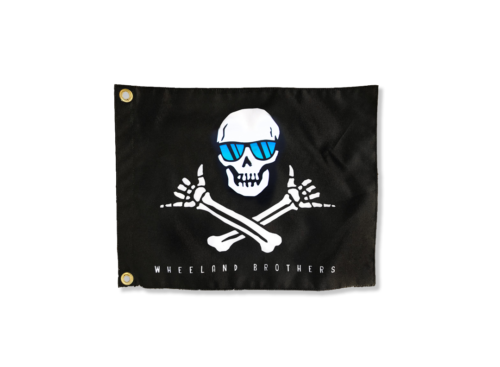 Small Pirate Shaka Flag