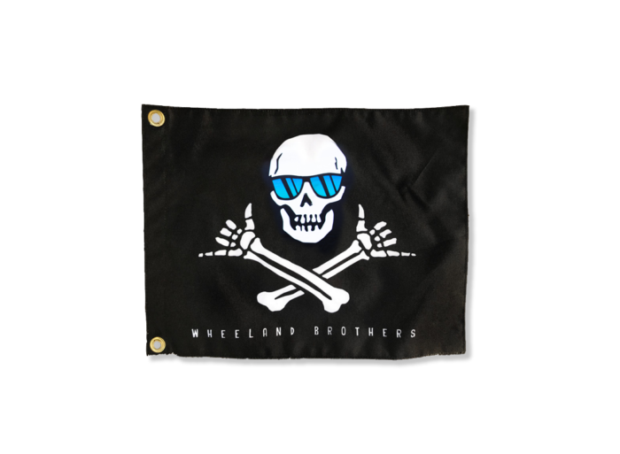 Small Pirate Shaka Flag