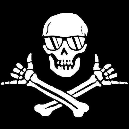 Shaka Pirate Wheeland Brothers Logo