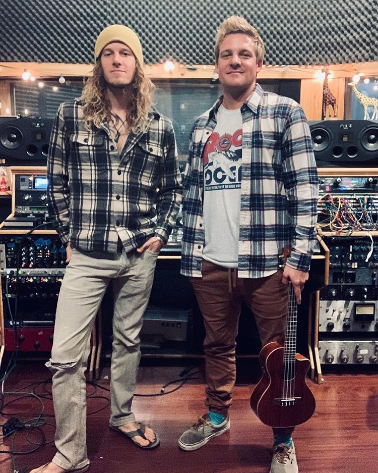 Wheeland Brothers In Studio